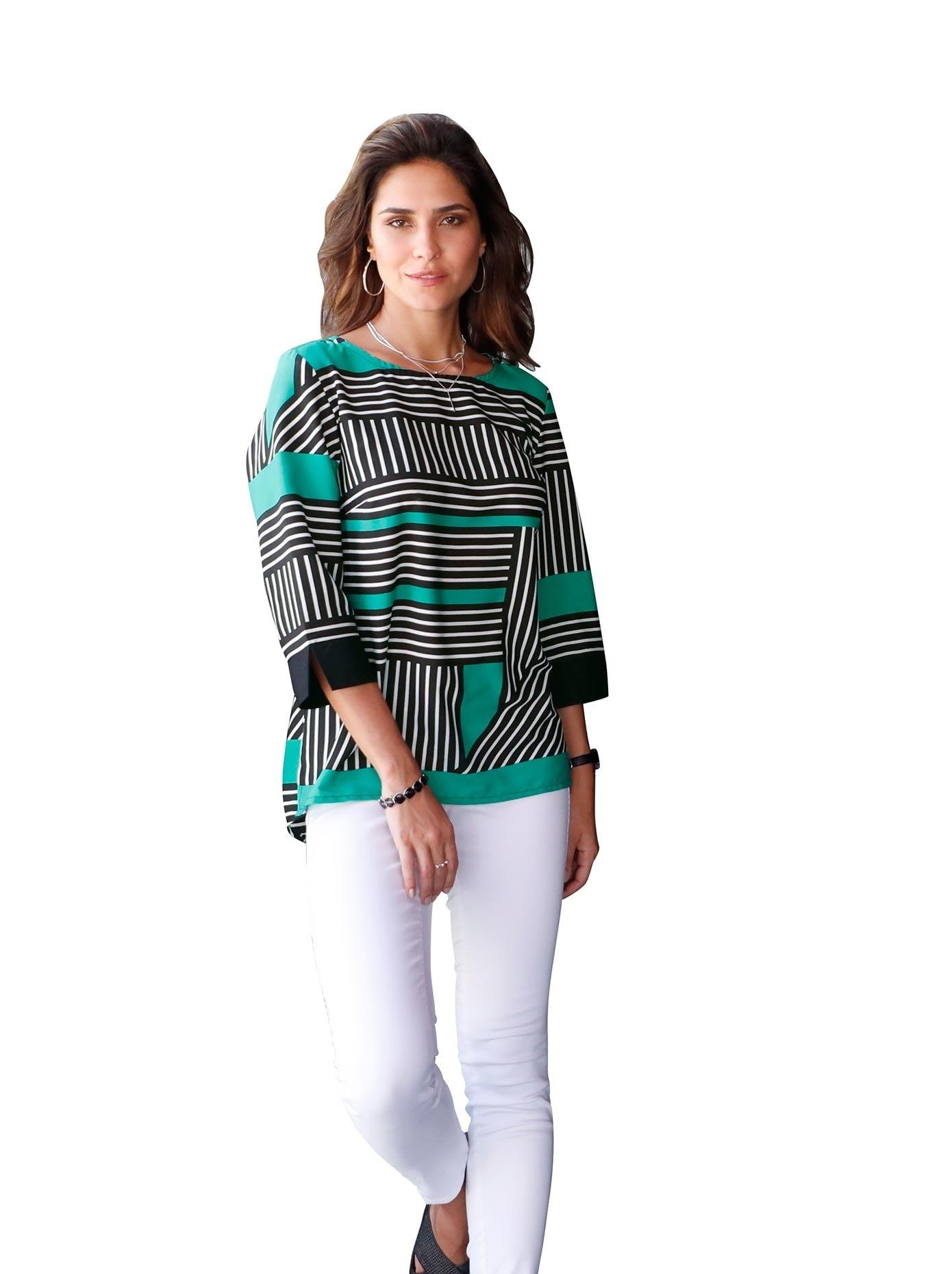 Classic Basics gedessineerde blouse nu online kopen bij OTTO