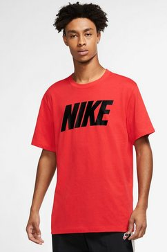 nike t-shirt »nsw tee icon nike block men's t-shirt« rood