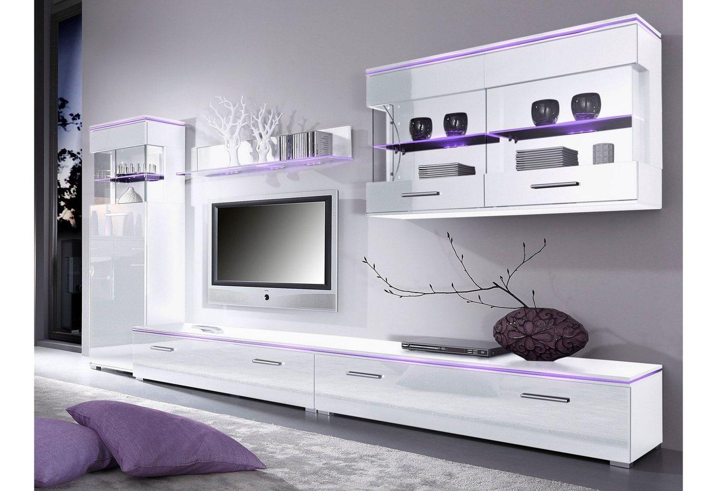 TV-lowboard van 120 cm of 180 cm breed