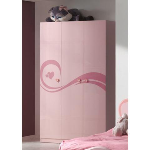 Garderobekast, 3-deurs