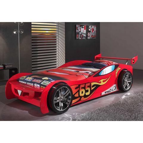 Ledikant in raceauto-look