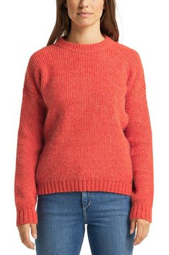 mustang sweatshirt carla c chunky soft sweater rood