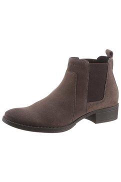 geox chelsea-boots »laceyin« bruin
