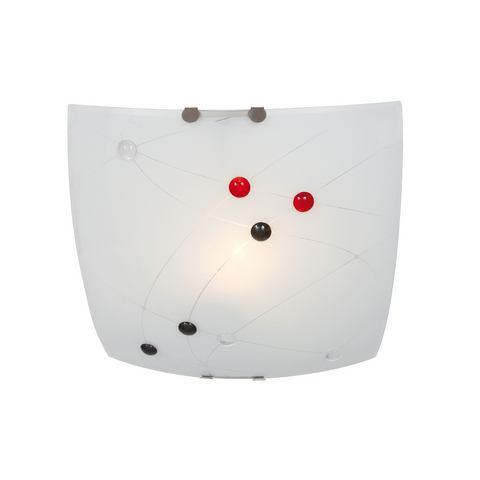 NÄVE Glazen plafondlamp met enkele fitting