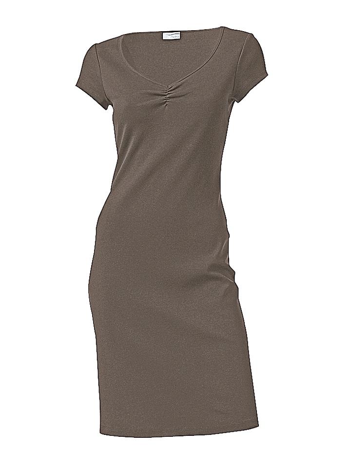 lange shirt jurk