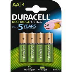 duracell batterij recharge ultra (set) groen