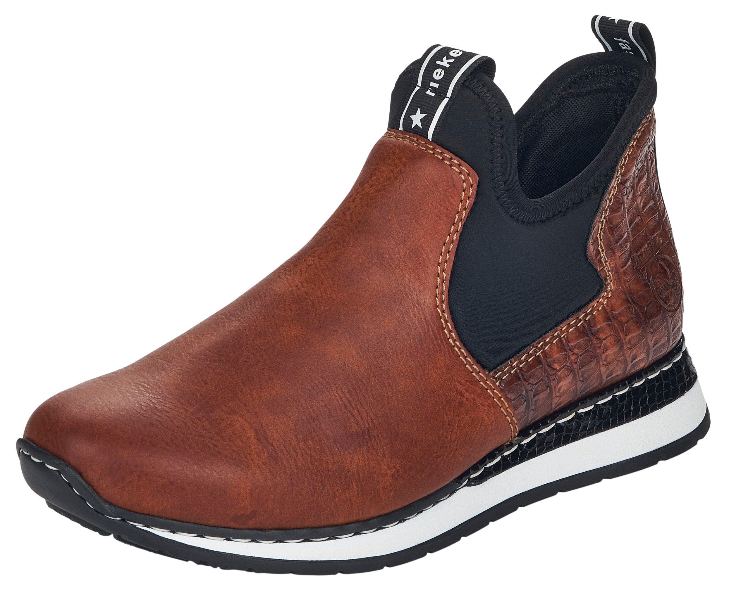 Rieker boots zonder sluiting met stretch-instap bij OTTO online kopen