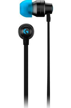 logitech in-ear-hoofdtelefoon g333 grijs
