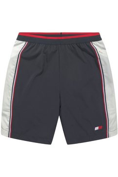 tommy sport trainingsshort »blocked training woven short 7« blauw