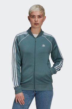 adidas originals trainingsjack primeblue sst originals jack groen