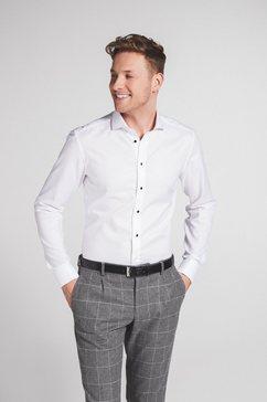 eterna lange arm hemd »slim fit« wit
