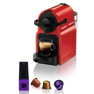 nespresso koffiecapsulemachine nespresso inissia xn1005, automatische uitschakeling, 19 bar rood
