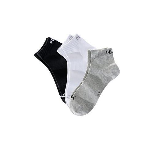 Dames Korte sokken, set van 3 paar, PUMA Puma zwart Sportkleding
