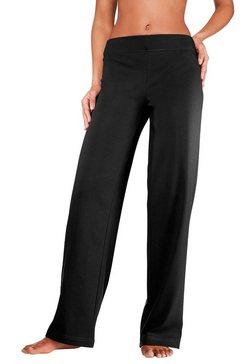 vivance homewear-broek met rechte pijpen in n-maten zwart