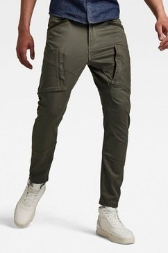 g-star raw cargobroek zip pocket 3d skinny cargo bracket superstretch twill grijs
