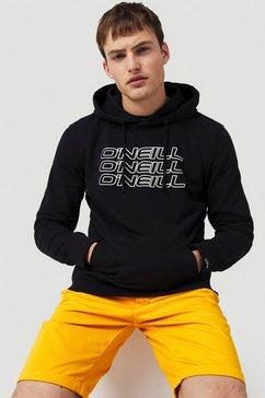 o'neill hoodie »lm 3ple hoodie« zwart
