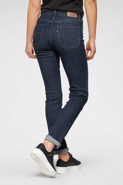 levi's straight jeans »724 high rise straigth« blauw