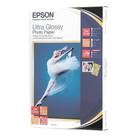 Epson Fotopapier »Ultra Glossy Photo Paper«