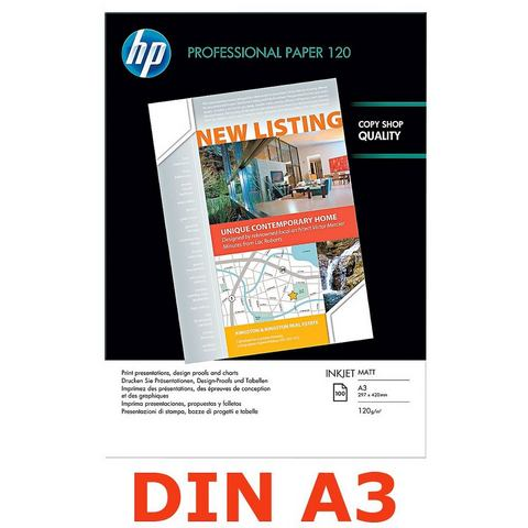 HP Inkjet-papier »HP Professional 120 matt«