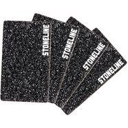 stoneline snijplank hittebestendig en breukvast (set, 4 stuks) zwart