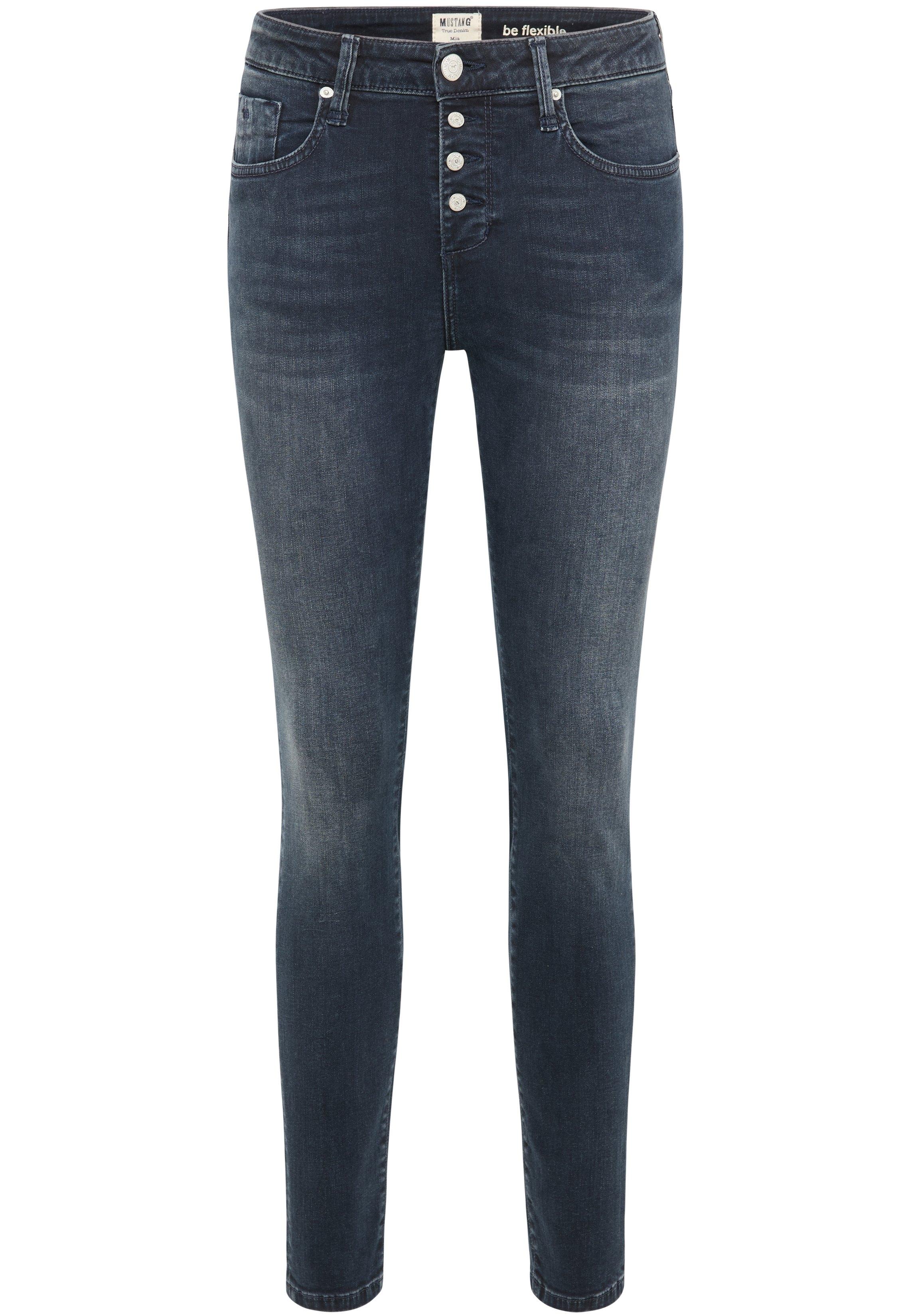 MUSTANG jeggings Mia jeggings Jeans broek nu online kopen bij OTTO