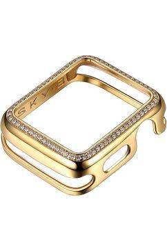 sky•b smartwatch-afdekking halo, w001g44, 44 mm goud