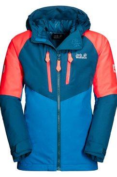 jack wolfskin ski-jack »great snow jacket kids« blauw