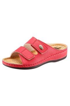 franken-schuhe slippers rood
