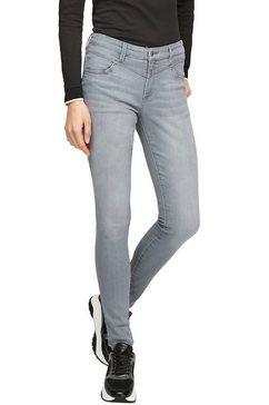 s.oliver skinny fit jeans »izabell« grijs