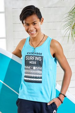 chiemsee tanktop »surfing mode on« blauw