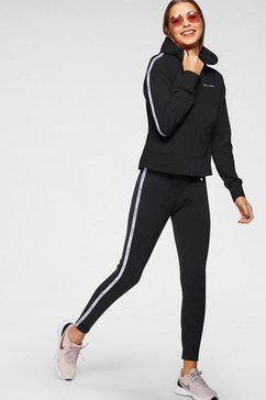 champion joggingpak sweatsuit (set, 2-delig) zwart