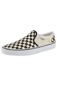 vans slip-on sneakers asher wit