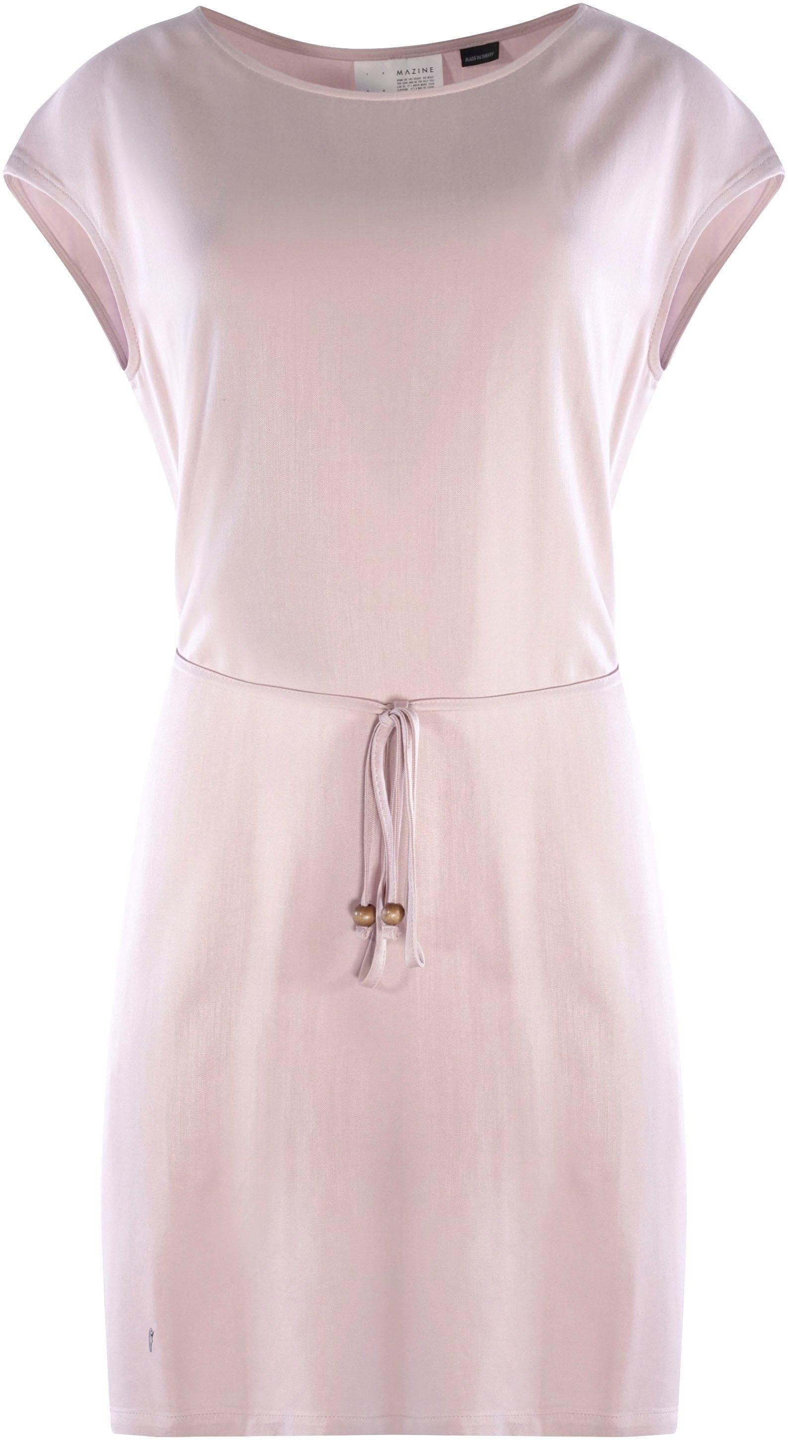 MAZINE jerseyjurk Ruth met kleine decoratieve riem & all-over print voordelig en veilig online kopen