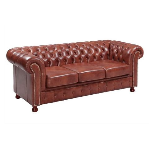 woonkamer leren bankstel bruin heine  meubelen 18