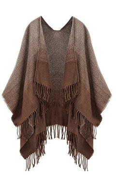 lascana xxl-sjaal bruin