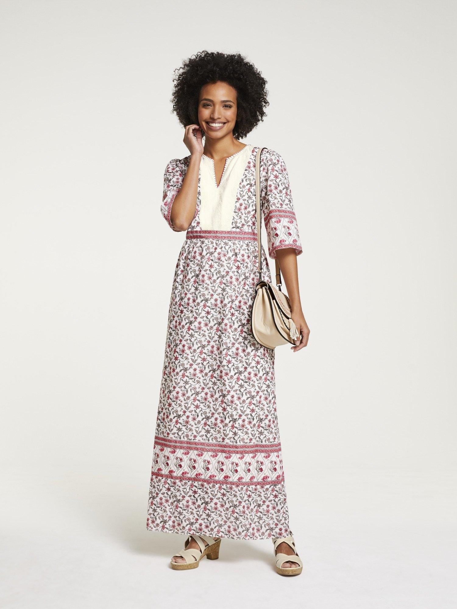 LINEA TESINI by Heine maxi-jurk in maxi lengte veilig op otto.nl kopen
