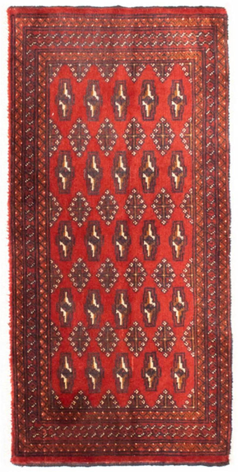 morgenland wollen kleed Turkaman Teppich handgeknüpft rot veilig op otto.nl kopen
