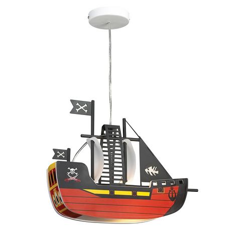 RABALUX Kinderlamp Piratenschip met 1 fitting
