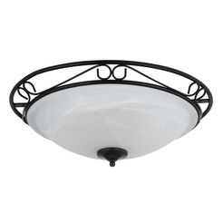 rabalux, plafondlamp »athen«, zwart