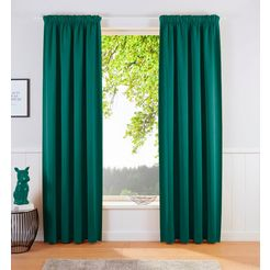 my home verduisteringsgordijn sola (1 stuk) groen