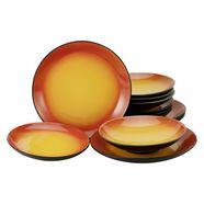 creatable eetservies hot unieke uitstraling (set, 12-delig) oranje