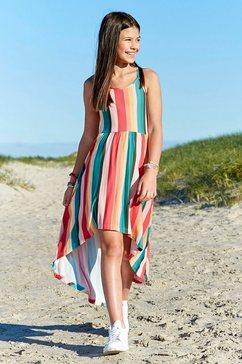 chiemsee jurk, voor kort en achter lang multicolor