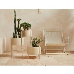 leger home by lena gercke plantenbak »ruby« beige