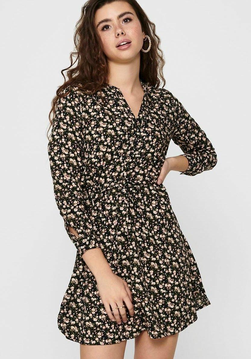 Only gedessineerde jurk ONLCORY nu online bestellen