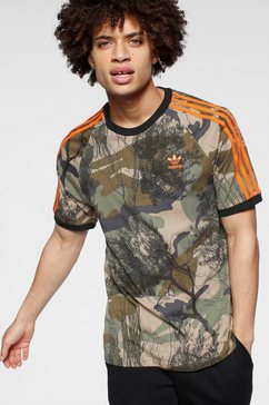 adidas originals t-shirt »camo all over print tee« beige