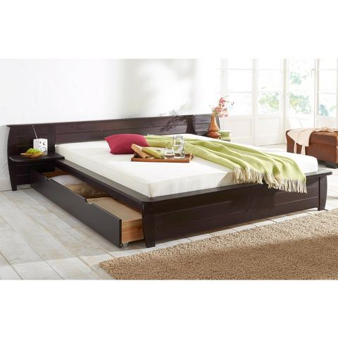 Bed Home Affaire koloniaalkleur bruin Home Affaire 543704