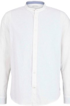 tom tailor linnen overhemd wit