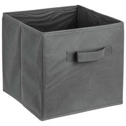 adob opbergbox vouwkrat vouwkrat met handgreep (1 stuk) grijs