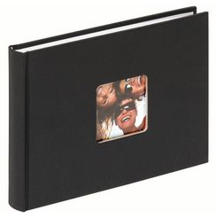walther fotoalbum fun albums (1 stuk) zwart