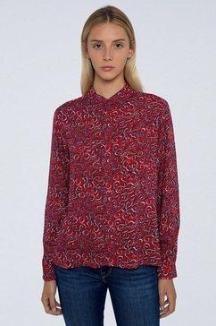 pepe jeans overhemdblouse »camelia« multicolor